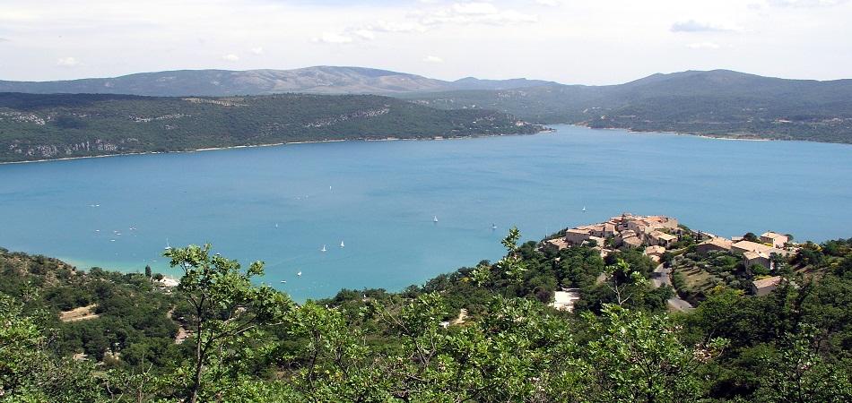 A la découverte du Lac de Sainte Croix
