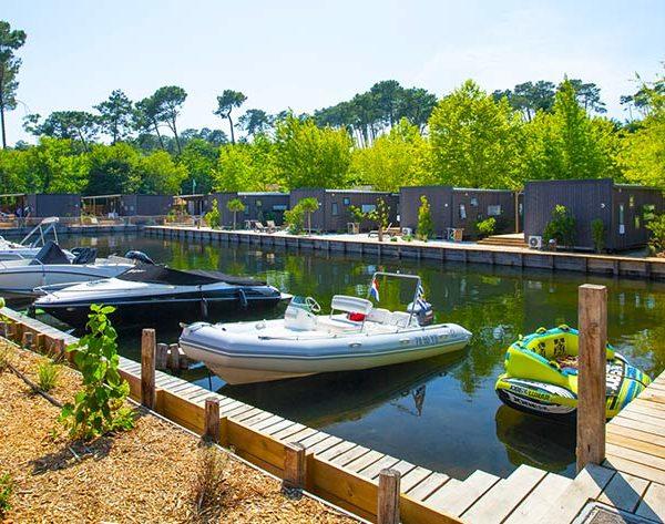 Où camper dans les alentours du lac de Biscarrosse ?