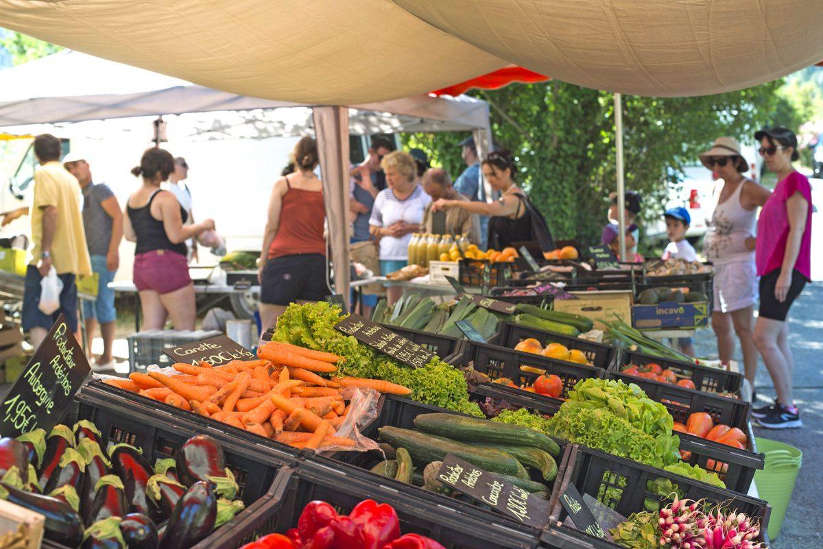 Où faire le marché en Ardèche ?